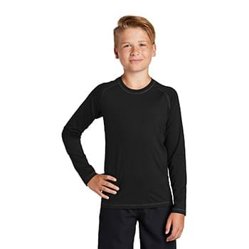 Sport-Tek  ®  Youth Long Sleeve Rashguard Tee. YST470LS