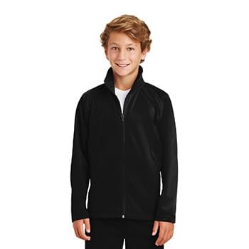 Sport-Tek ®  Youth Tricot Track Jacket. YST90